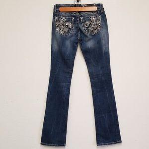Miss Me Jeans Boot Cut Medium Wash Sz 26
